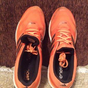 adidas Shoes - Adidas Men's Energy Boost Orange Black Sz 13